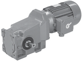 Right-angle Helical-bevel Gearmotors Part Numbers