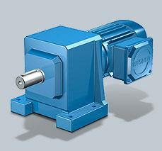 Stober MGS C Helical Geared Motor