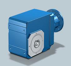 Stober MGS K Helical Bevel Geared Motor