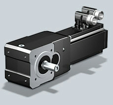 Stober SMS EK-ED KL Helical Bevel Geared Motor