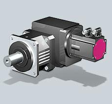 Stober SMS EK-ED PK Right-Angle Planetary Geared Motor