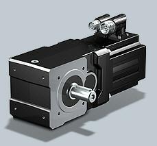 Stober SMS KL Helical Bevel Geared Motor