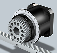 Stober ZTR-PH(A) Rack and Pinion Drive
