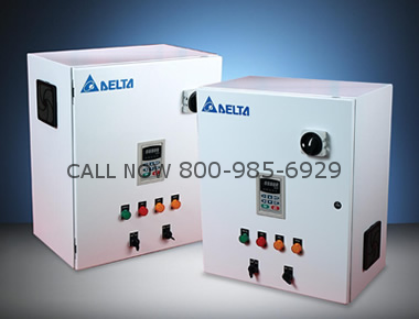 Delta VFD450CP43A-00 Drive Panel