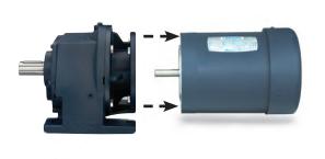 LEESON Grove Gear R Series Helical-Inline Gear Reducers R81073053
