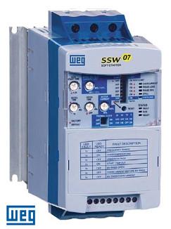 WEG Soft Starter SSW070365T5SH1Z 575V